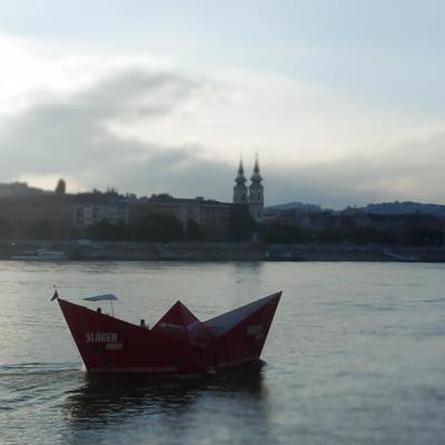 Hilfswerft Papierboot