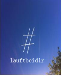 logo #läuftbeidir