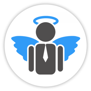Social Business Angel Iconl