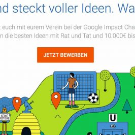 Google veranstaltet Impact-Challenge