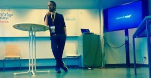 Philip Siefer von Einhorn Kondome beim Startup Camp Berlin - 2015