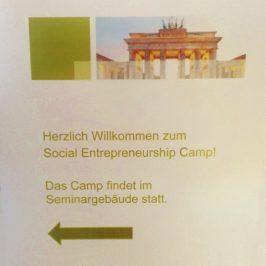 Das Social Entrepreneurship Camp in Berlin – Ein Nachbericht