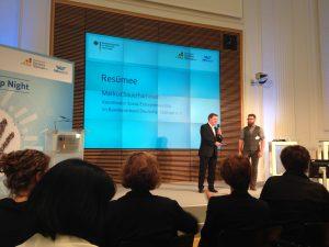 Social Startup Night Markus Sauerhammer und Thomas Clark