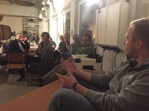 Tom Suberg erklärt das Crowdfunding