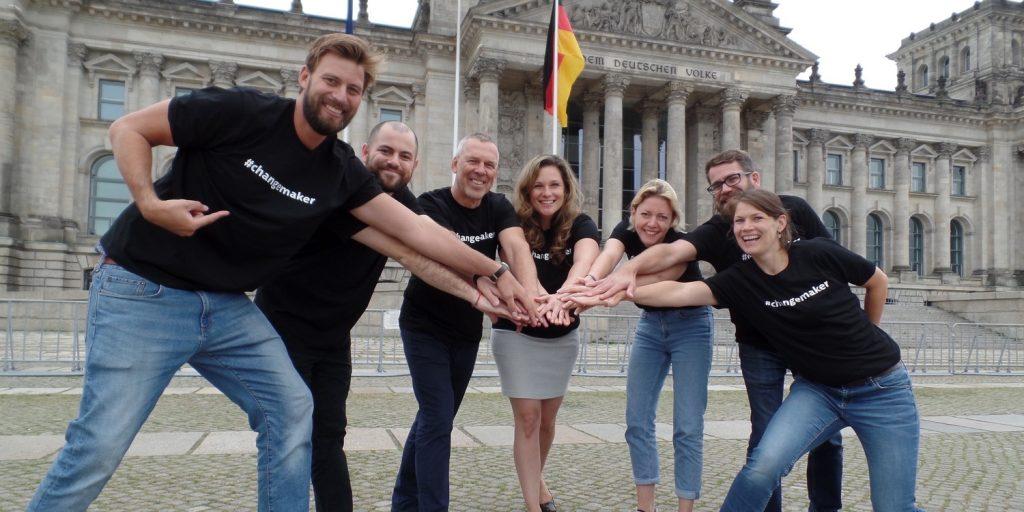 Kernteam des Social Entrepreneurship Netzwerk Deutschland