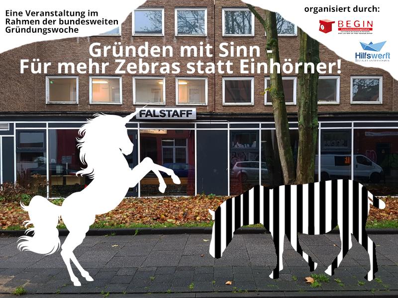 Veranstaltung Zebras statt Einhörner