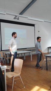 Sascha und Jorge beim SEC Bremerhaven