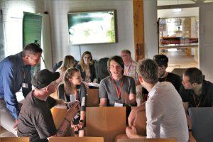 Diskussionsrunde bei Fokusveranstaltung Frieslands Helden der Heimat