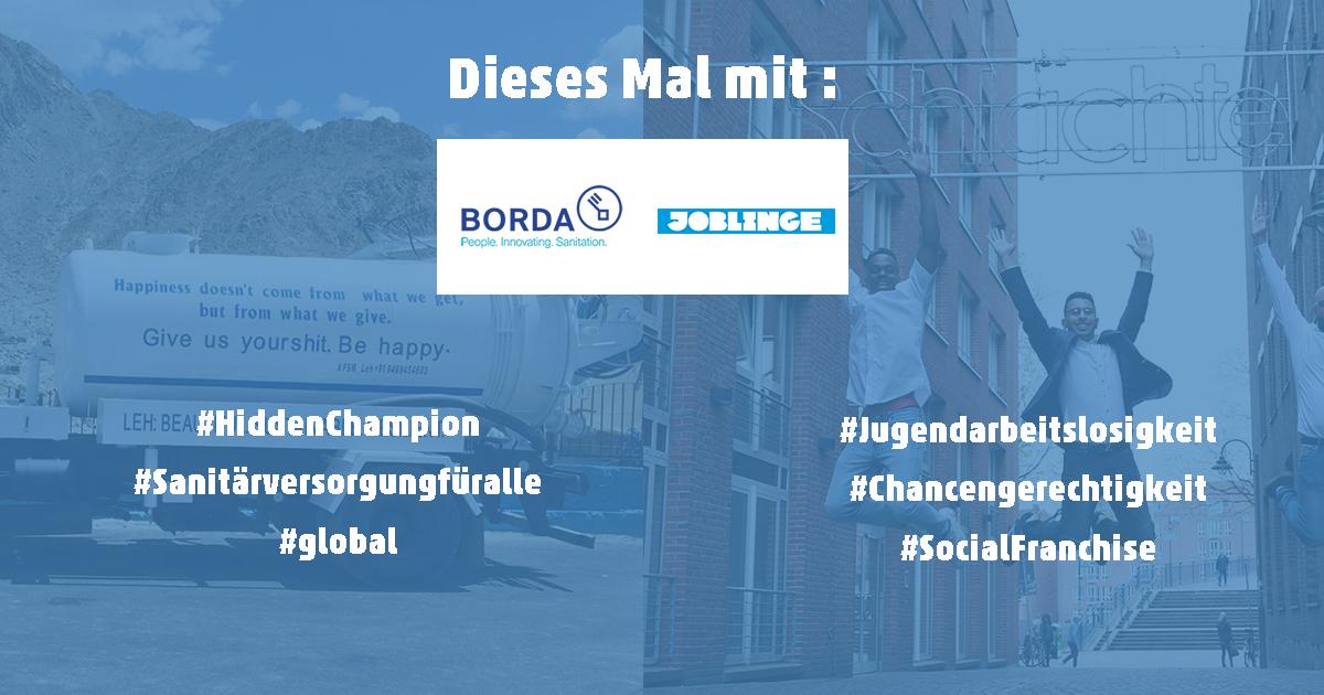 Social Entrepreneurship Abend Joblinge BORDA Bremen